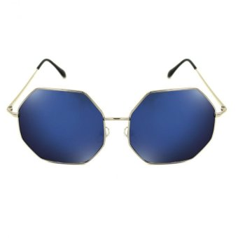 Maldives 2233-Y Olivia Fashionable Summer Sunglasses (Blue/Silver)