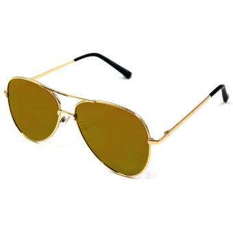 Maldives Kris Sunglasses 1601 (Gold/Orange) - picture 2