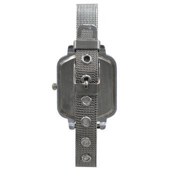 Medissa Unisex Analog Stainless Steel Wrist Watch 2384(Silver/White) - 3