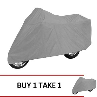 Medium Motorcycle Cover (Gray) Buy 1 Take 1