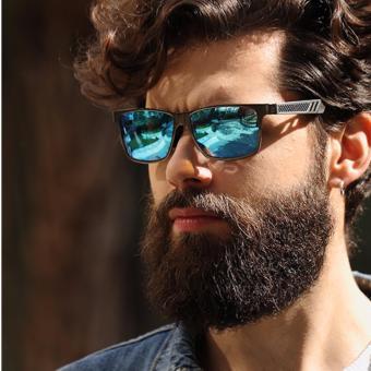 Men Polarized Sunglasses Aluminum Magnesium Sports Sun GlassesDriving Outdoor Glasses Rectangle Shades S'8571 - Intl - 3