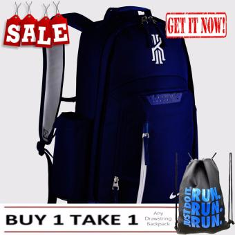 Mens Backpack Kyrie Blue Sports Gym School Mens Womens Bag