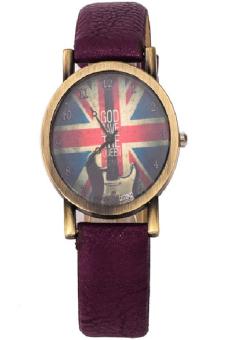 Men's Purple Strap Watch