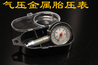 Metal Mechanical-Tire Pressure Gauge digital tire pressure monitor tire Car Tire Pressure Table