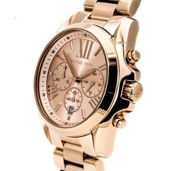 Michael Kors Bradshaw Chronograph Unisex Rose Gold Stainless Steel Strap Watch MK5503 - 4