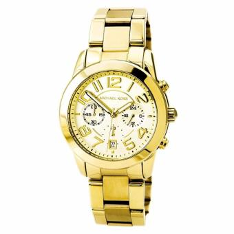 Michael Kors Mercer Chronograph Gold-Tone Ladies Watch MK5726