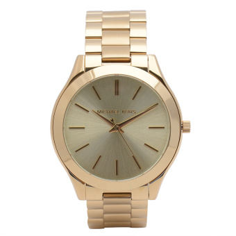 Michael Kors Runaway Women's Rose Gold Stainless Strap Watch MK3197