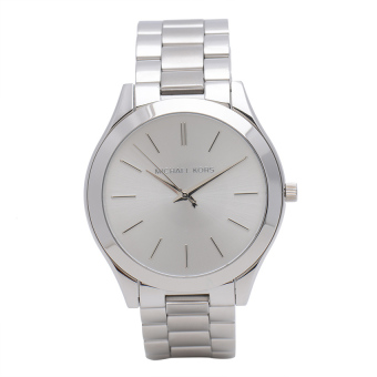 Michael Kors Runaway Women's Silver Stainless Strap Watch MK3178