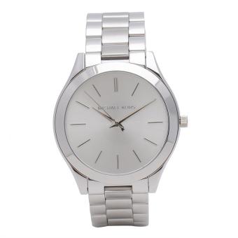 Michael Kors Runaway Women's Silver Stainless Strap Watch MK3178