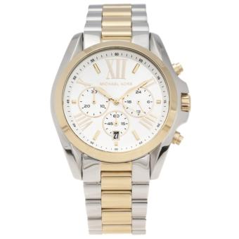 Michael Kors Women's MK5627 Two-tone Steel Bradshaw Chronograph 43MM Watch