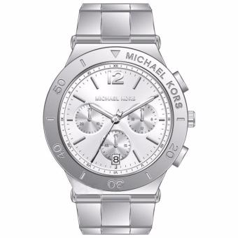 Michael Kors Wyatt Chronograph Silver Dial Stainless Steel Women's Watch-MK5932