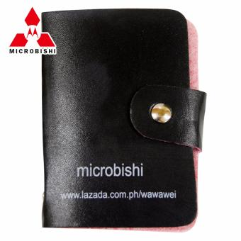 Microbishi Wallet Holder Pocket Business ID Credit Card CaseColorful Purse Coin bag Pouch (Black) with free Nano SIM AdapterNano to Micro SIM Micro SIM to Standard SIM Card Adapter 5 IN 1Tools Kit - 4