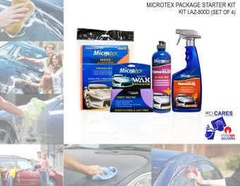 Microtex 800D Car Care Kits, 4-piece Set Price Philippines