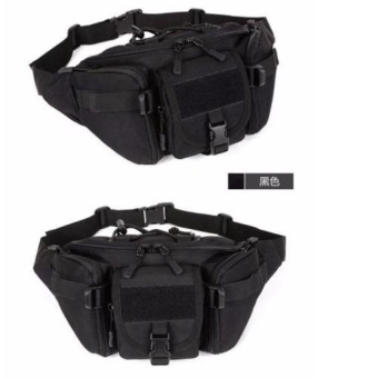 Military Tactical Molle Waist Packs Outdoor Camping Hiking Bag -intl