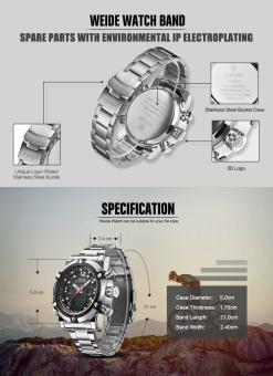 Military Watch Men 's Smart Waterproof Watch Special Luminous- Black - intl - 4