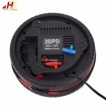 Mini Air Compressor DC12v Portable Size Mini Tyre Inflating Pump 12V Vehicle portable pump for car,motorcycle bicycle ball etc. - 4