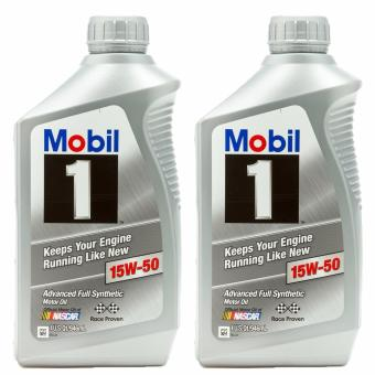 Mobil 1 15W-50 Synthetic Motor Oil - 2 Quart