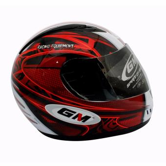 Moto P249-(LOC.)Helmet NHK GM 670 Protofoam(Full Face)(L)Glossy-WHT/RED Price Philippines