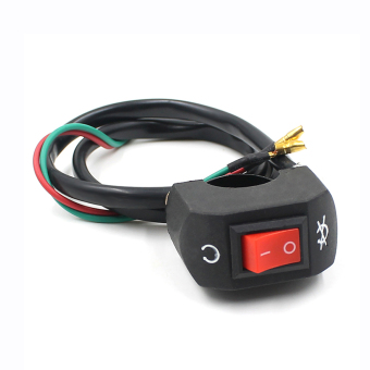 Motocross Handlebar Electric Start Flameout Switch for Motorcycle