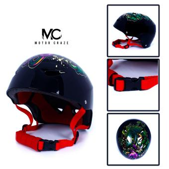 Motor Craze HNJ Dragon Monster Half Face Crash Safety PassengerHelmet Price Philippines