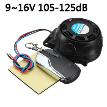 Motorcycle Anti-theft Security Alarm System Burglar Alarm Remote Control - intl