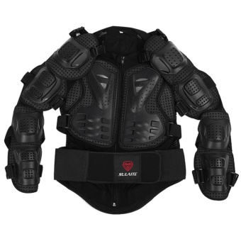 Motorcycle Armor Motocross Clothing Jacket Protector (Black) - intl