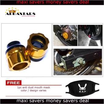 Motorcycle Axle Nut Cover Axel Nut Universal Cap Gold for YamahaMio Sporty