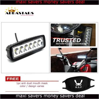Motorcycle Car 6 LED Light Bar Fog Light Flood LED for Honda XRM125 RS