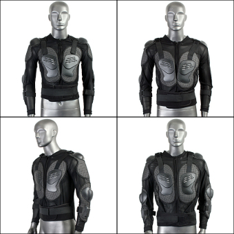 Motorcycle Full Body Protective Armor Jacket Spine Chest Shoulder Riding Gear - 5