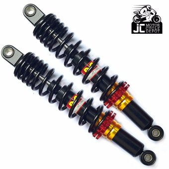 Motorcycle Rear Shock Absorber Universal 335mm MP (Black)
