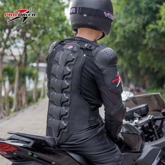 Motorcycle riding protective clothing breathable racing armorjacket - intl - 4