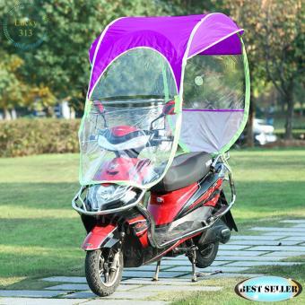 Motorcycle Umbrella Roof Cove Violet