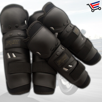 Motorcycle/Bicycle Knee and Elbow Fox Protective Gear - 4