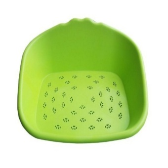 Multifunction Plastic Dog Bed or Pet Bath Tub (Green) - intl - 4