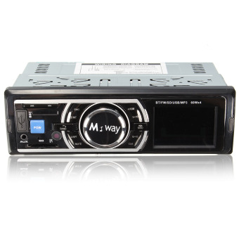 M.way Car Radio Bluetooth Stereo Head Unit MP3 Player /USB/SD/AUX/FM For ipod
