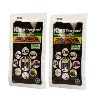 Nano Energizer Smaller Engine Engine Ceramic Coating 30ml Set of 2(Black)