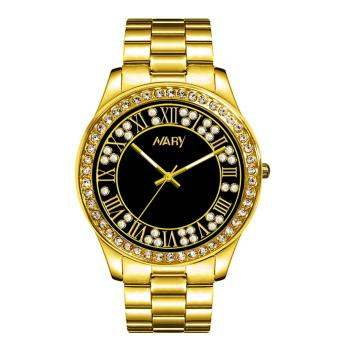 Nary Stainless Steel Strap Women's Watch NR1005 (Gold/Black)