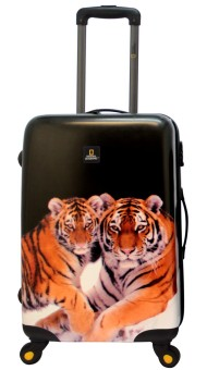 """National Geographic Nature of Love 4W 31"""" Luggage (Tiger)"""
