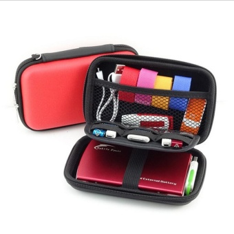 New 2017 Mobile Kit Case High Capacity Storage Bag Digital GadgetDevices USB Cable Data Line Travel Insert Portable - intl - 2