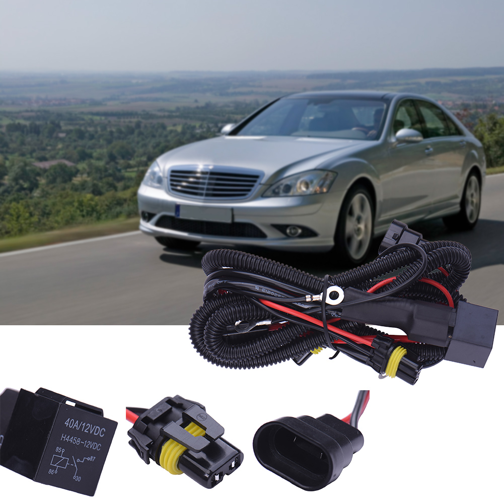 Philippines New Drl 9006 Relay Wiring Harness For Hid Conversion Kit Add Onfog Light Led