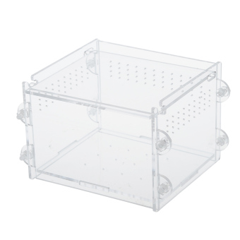 New Happy Pet Acrylic Reptiles Terrarium Container Ideal forReptiles or Amphibians 'Larvae Spiders Ants Scorpions ChameleonLizard Price Philippines