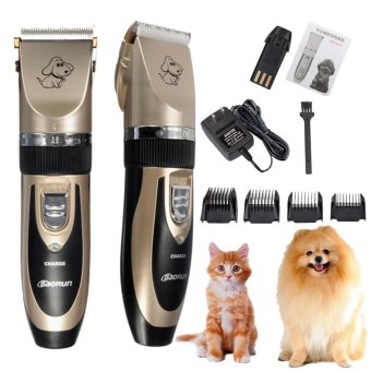 New Professional Grooming Kit Animal Pet Cat Dog Hair Trimmer Clipper Shaver Set - intl - 2