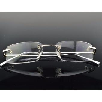NEW RIMLESS Titanium ALLOY SILVER LEG GLASSES FRAME - 3