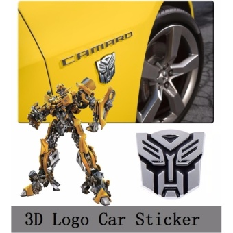 New Transformers Autobot 3D Logo Car Emblem Badge Decal Sticker