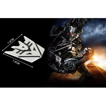 New Transformers Autobot 3D Logo Car Emblem Badge Decal Sticker - 4