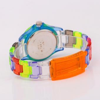 Newyork Army-102 Multicolor Transparent Watch - Aqua Dial - 3