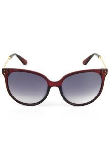 Newyork Army 8039 Cat Eye Sunglasses - Red