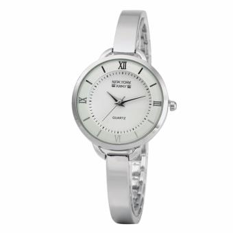Newyork Army NYA176 Silver Tone Ladies Bangle Bracelet Watch