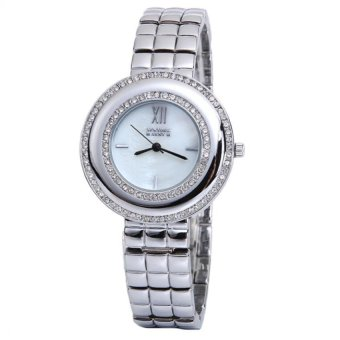 Newyork Army Premium Ladies Mother of Pearl Silvertone Watch NYA139 Price Philippines