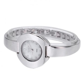 Newyork Army Unique Mother of Pearl Dial Ladies Watch NYA151 - SILVER - 2